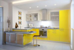 материалы кухонь