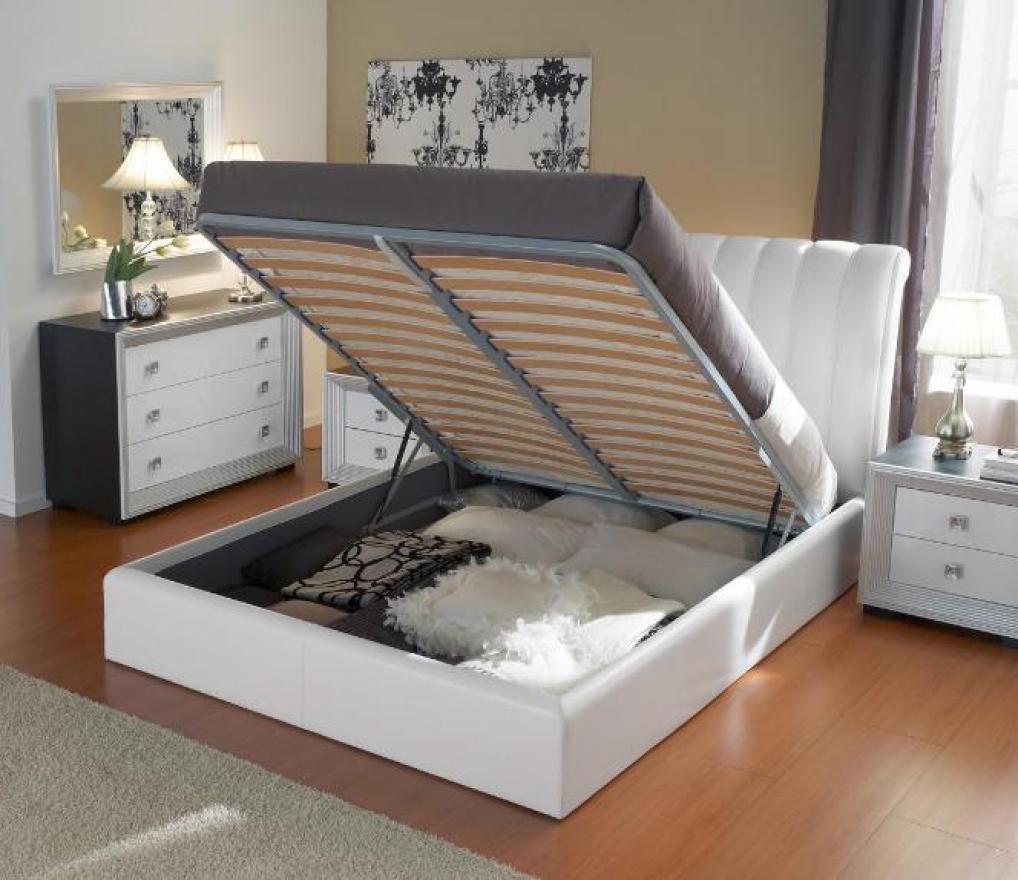 кровати 160х200 с подъемным механизмом