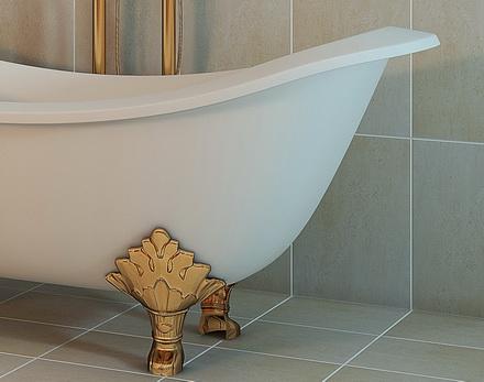 Ножки для ванной декоративные