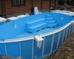 пластиковые бассейны для бани