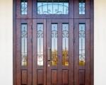 Металлические двери с узорами