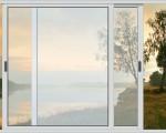 Раздвижные окна для дачи