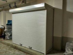 Роллетный шкаф в паркинг от Eurogar